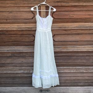 Gunne Sax Jessica San Francisco vintage 1970 dress